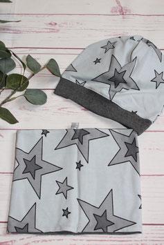 "SET Mütze & Loop ""Stars"""