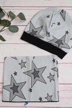 """SET Mütze & Loop """"Stars&Stripe"""""""