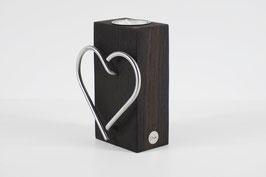 Teelichthalter mit Herz