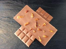 Vollmilch Schokolade 35% mit ganzen Chilies  - 95 Gramm