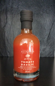 A L´Olivier Fruchtfleisch Essig Tomate Basilikum - 200ml