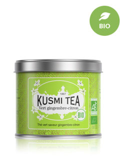 Kusmi Tea: Grüner Tee Ingwer-Zitrone BIO