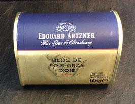 Edouard Artzner Bloc De Foie Gras D'Oie 145g