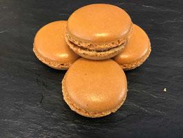 Karamell Macaron: 1 Stück