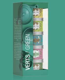 Kusmi Tea: Miniaturen Verts/ Green -  Mischung