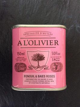 Olivenöl Fenchel & rosa Pfeffer  - 150ml