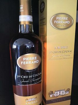 Cognac Pierre Ferrand Ambre 1er Cru du Cognac Grande Champagne im Etui: 0,70 Liter (40,0 % Alkohol)