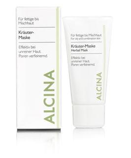 Alcina Kräuter Maske, für fettige Haut 50ml