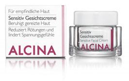 Alcina Sensitiv Gesichtscreme, bei empfindlicher Haut 50ml