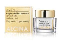 Alcina Augen- und Lippencreme 15ml