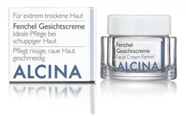 Alcina Fenchel gesichtscreme für sehr trockene Haut 100ml