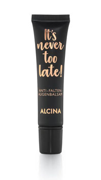 Alcina It´s never too late ! Anti Falten Augen-Balsam