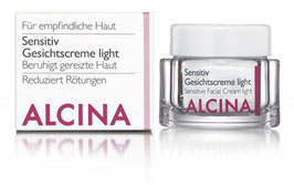 Alcina Sensitiv Gesichtscreme light 50ml