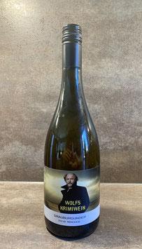 Karton Wolfs Krimi Wein