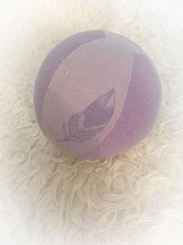 "Stoffball ""feder lila"""