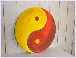 Yin Yang, rot-gelb 90/18