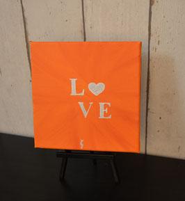 Love, orange-silber 29/19