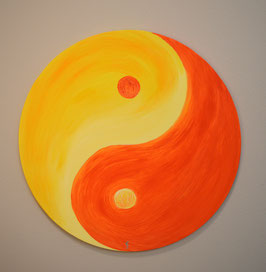 Yin Yang, gelb-orange 91/18