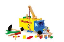 "LKW ""Kids@work"", Bauen u. Konstruieren"