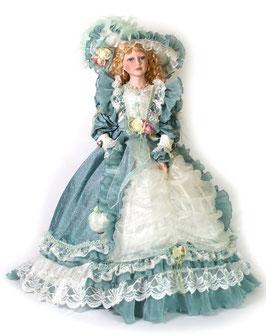 """Sammlerpuppe """"Katharina"""", Charakterpuppe im barocken Stil, eine dekorative Augenweide"""