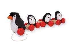 Zieh-Pinguinfamilie, Zieh- u. Schiebeartikel, Babyartikel