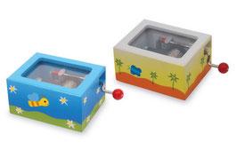 Spieluhren für Kindergeburtstag mit Geburtstagsmelodie und Noel