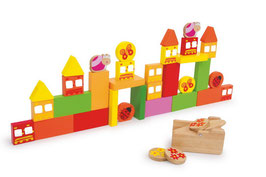Schieß den Vogel ab, für Spielen u. Spass, Bauen u. Konstruieren mit Bauklötzen, Holzspielzeug