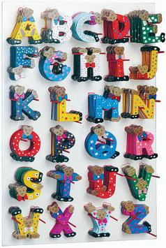"""Display """"ABC"""", Lernartikel, Kinder-Holzspielsachen"""