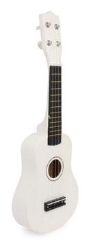 Gitarre, weiß, Musikinstrumente für kleine Musiker