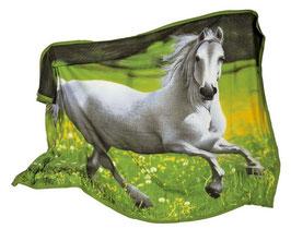 Fleecedecke Pferd, Kinderzimmermöbel u. Zubehör
