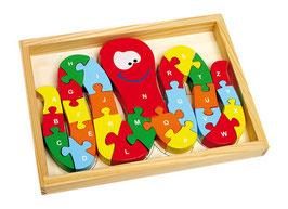 Puzzle Tintenfisch-ABC, Lernartikel, Holzspielzeug