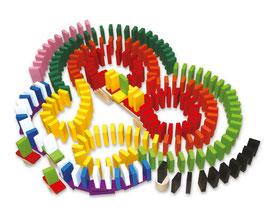 """Domino-Rally """"Maxi"""", Gesllschaftsspiele, Bauen u. Konstruieren, Kinder-Holzspielzeug"""