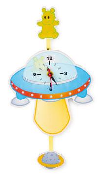 """Uhr """"Ufo"""", Kinderzimmermöbel u. Zubehör, Spieluhren"""