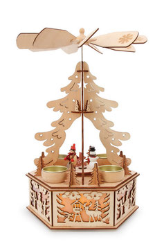 """Lampe """"Winterpyramide"""", Weihnachten-Christmas"""