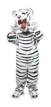 """Kostüm """"weißer Tiger"""", Kostüme u. Zubehör, Rollenspiel u. Verkleidung, Verkleidung für weiße Tigerkinder"""