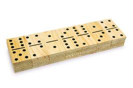 Domino, riesig, Gesellschaftspiele für Spielen u. Spaß, Kinder-Holzspielsachen