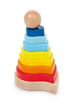 Steck-Puzzle, Motorik Spielzeug, Bauen u. Konstruieren, Kinder-Holzspielsachen