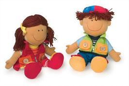 """Puppen """"Nicoletta und David"""""""
