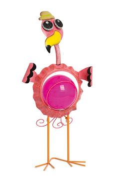 """Solar Lampe """"Flamingo"""", Spieluhren mit zauberhaften Melodie, Metallspielzeug"""