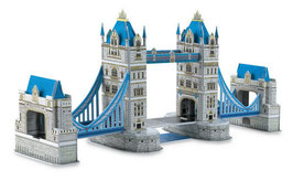 3D Tower Bridge, die bekannteste Brücke der Welt als Puzzle