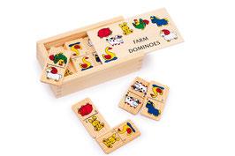 """Domino """"Farm"""" klein, Gesellschaftsspiele, Bauernhöfe-Zubehör"""