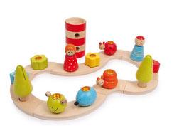 """Geburtstagsset """"Variabel"""" für Kindergeburtstag, Holzspielzeug"""