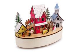 """Spieluhr & Lampe """"Winterzeit"""", Spieluhren, Kinderzimmermöbel u. Zubehör"""