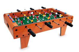 Tisch-Fußball, Spielen u. Spaß