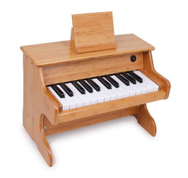 """Klavier """"Bambus"""", elektrisch, Musikinstrument für das erste Klavierkonzert des kleinen Musikers"""