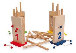 Die verflixten Löcher, Gesellschaftsspiele aus Holz