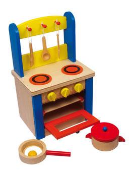 Spielküche, für Küchen u. Zubehör, Holzspielzeug für kleine Kinder-Köche