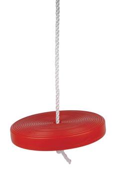 Tellerschaukel, rot, Gartenspielzeug / Outdoor / Schaukelartikel und Bewegungsspielzeug für Kinder