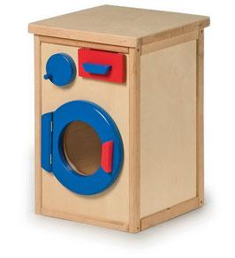Waschmaschine, für Küchen u. Zubehör, Holzspielzeug für Kinder
