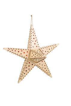 """Lampe Stern """"Natur"""", Weihnachten-Christmas"""